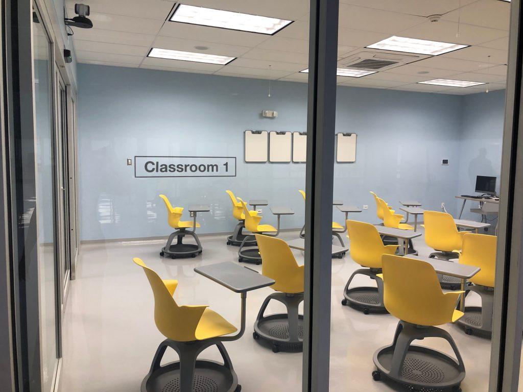 Classroom 1, STEM Success Center