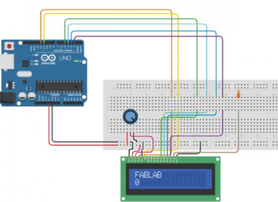 Proyecto con Arduino: Imprime un mensaje en una pantalla LCD
